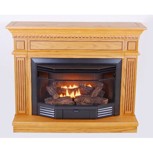 KozyWorld Carlton Dual Fuel Vent Free Gas Fireplace