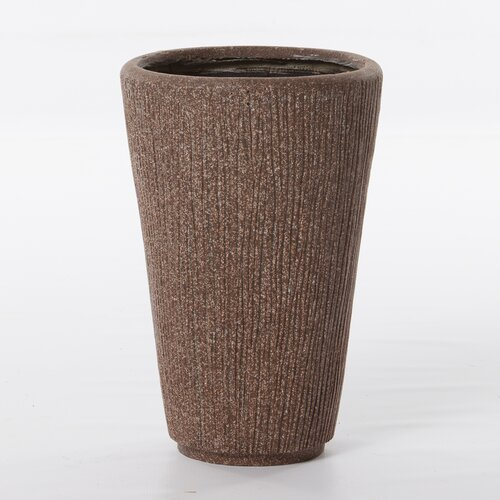 Alfresco Home Graffiato Tall Round Planter