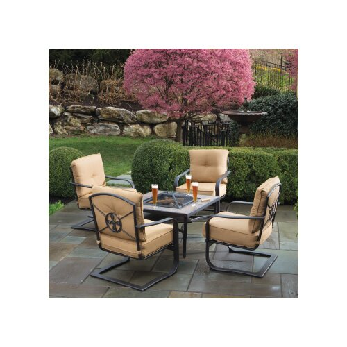 Soiree Spring 5 Piece Chat Set