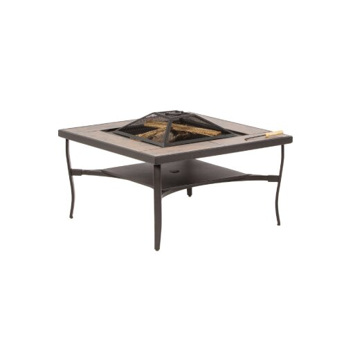 Canyon Burning Fire Pit Table