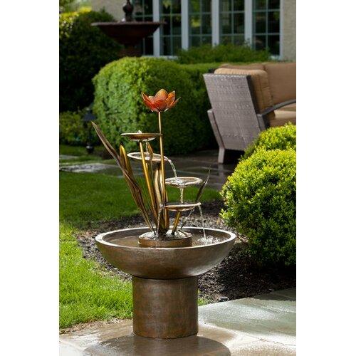 Alfresco Home Laghetto Outdoor Resin Tiered Fountain