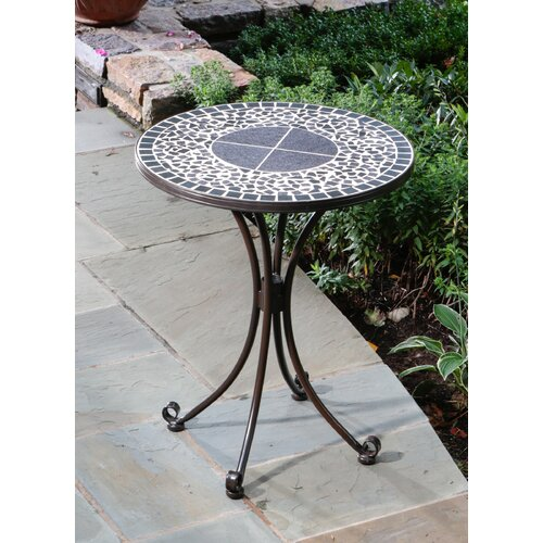 Alfresco Home Vulcano Mosaic Outdoor Bistro Table