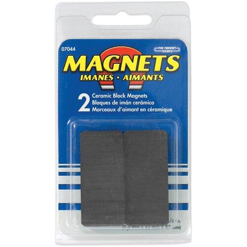 Master Magnetics Ceramic Disc Magnets (Pack of 2)