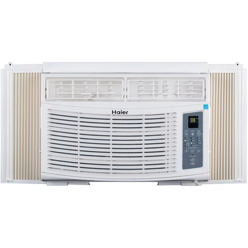 Haier 8000 btu energy star window air conditioner with for 12 x 19 window air conditioner