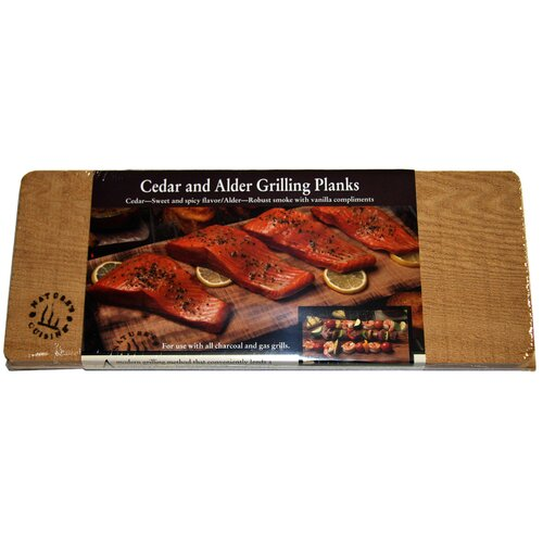 2 Count Grilling Planks Set