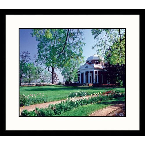 Great American Picture National Treasures Monticello Framed Photographic Print