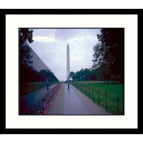 Great American Picture National Treasures Vietnam Wall Framed Photographic Print