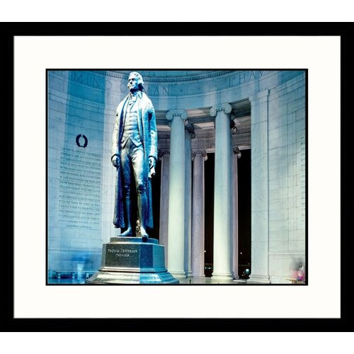 National Treasures Jefferson Framed Photographic Print