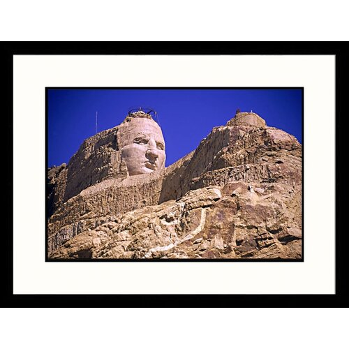 National Treasures 'Crazy Horse Monument, South Dakota' by John Coletti Framed Photographic Print