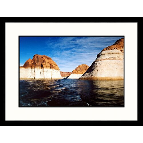 Great American Picture National Treasures 'Forbidden Canyon, Rainbow Bridge Monument, Utah' by James Denk Framed Photographic Print