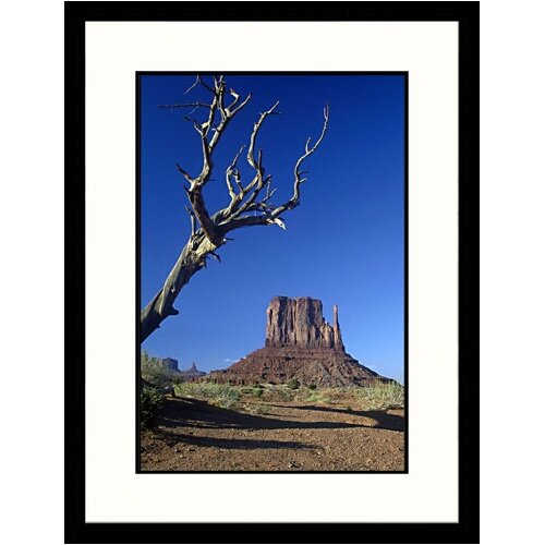 Great American Picture National Treasures West Mitten Butte, Arizona Framed Photographic Print