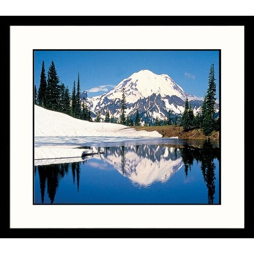 Great American Picture National Treasures Mount Rainier Framed Photographic Print