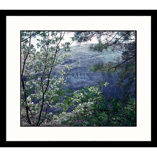 National Treasures Stone Mountain, Georgia Framed Photographic Print