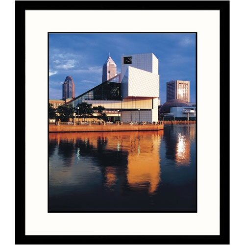 Great American Picture Cityscapes 'Rock and Roll Hall of Fame' by Adam Jones Framed Photographic Print