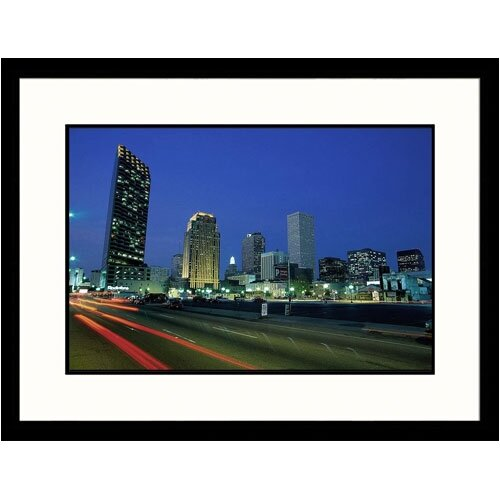 Great American Picture Cityscapes 'New Orleans Skyline' by James Lemass Framed Photographic Print