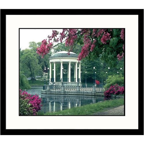Great American Picture Cityscapes Roger Williams Park in Rhode Island Framed Photographic Print