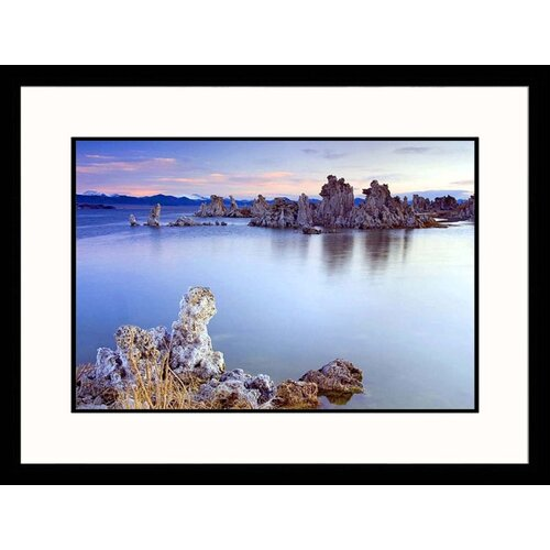 Seascapes 'Mono Lake Formations' by Russell Burden Framed Photographic Print