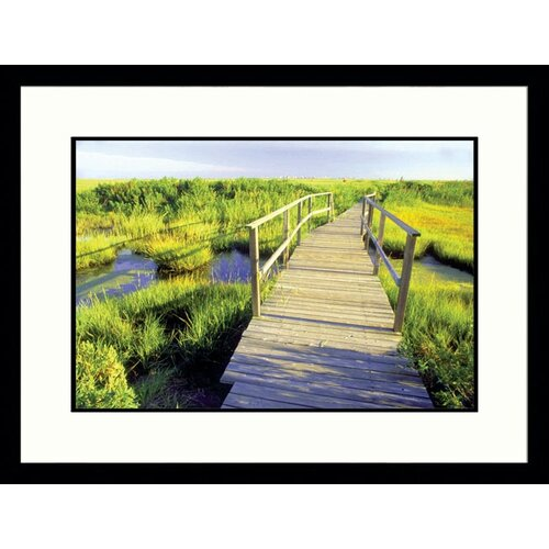 Seascapes 'New Jersey Shore' by Rudi Von Briel Framed Photographic Print