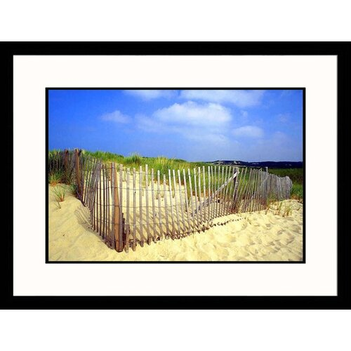 Great American Picture Seascapes 'Cape Cod Beach' by Kindra Clineff Framed Photographic Print