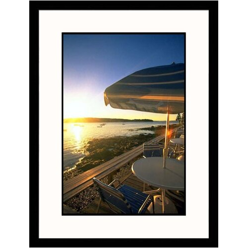 Great American Picture Seascapes 'Mt. Desert Island' by Kindra Clineff Framed Photographic Print
