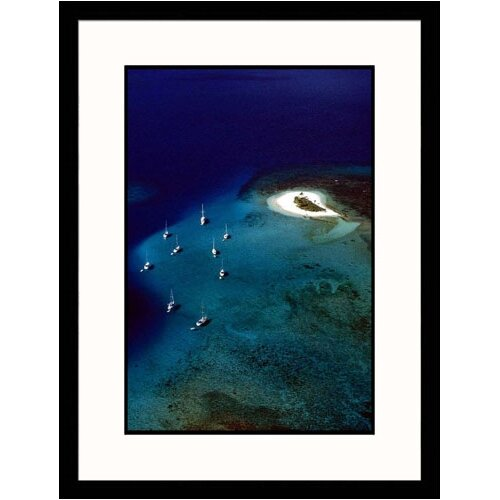 Great American Picture Seascapes 'Ocean and Boats' by Steve Dunwell Framed Photographic Print