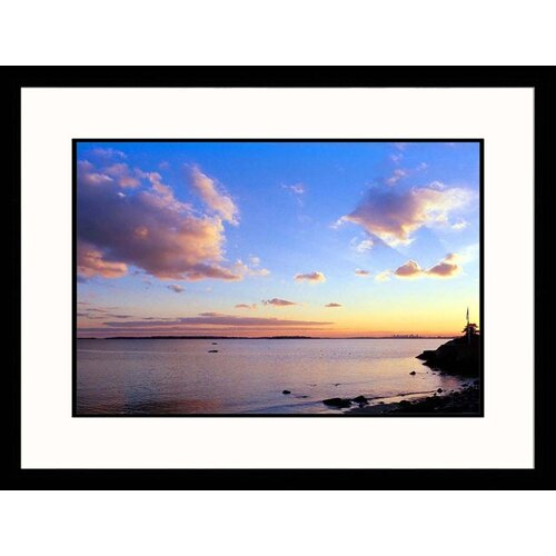 Seascapes 'Winter Ocean Sunset' by Steve Dunwell Framed Photographic Print