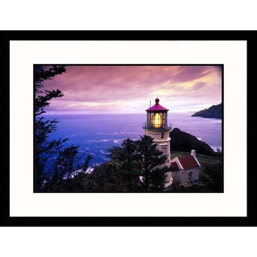 Seascapes 'Heceta Head Lighthouse, Oregon' by Stuart Westmoreland Framed Photographic Print