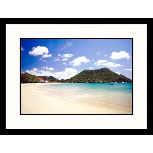 Seascapes A Tropical Beach Framed Photographic Print