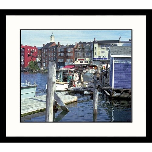 Great American Picture Seascapes Portsmouth Harbor Framed Photographic Print