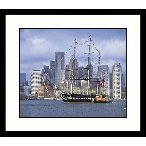 Great American Picture Seascapes 'USS Constitution' by Jim Abts Framed Photographic Print