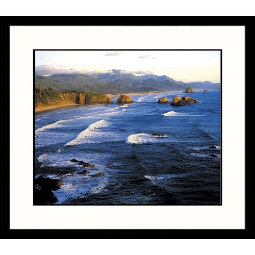 Great American Picture Seascapes Cannon Beach Framed Photographic Print