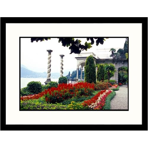 Great American Picture Florals Italian Villa Framed Photographic Print