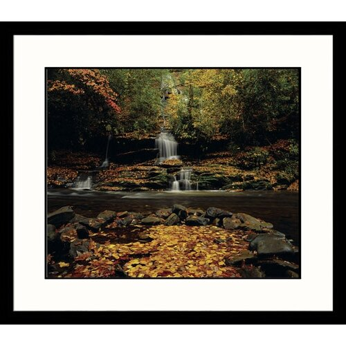 Great American Picture Landscapes 'Tom's Branch Falls' by Adam Jones Framed Photographic Print