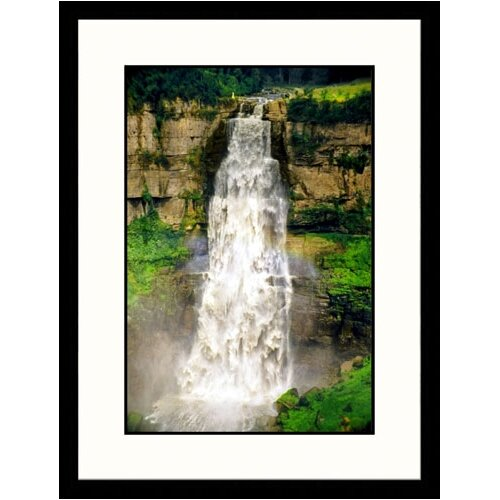 Landscapes Waterfall, California Framed Photographic Print