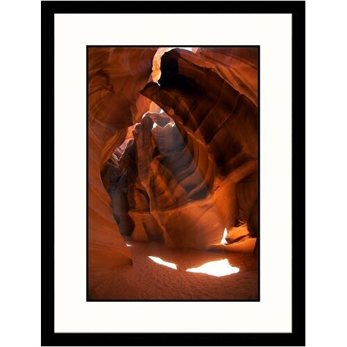 Great American Picture Landscapes 'Beautiful Rock 2 Antelope Canyon, Arizona' by Pat Canova Framed Photographic Print