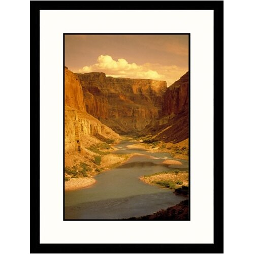 Great American Picture Landscapes 'Colorado River,Grand Canyon, Arizona' by Amy and Chuck Wiley Framed Photographic Print