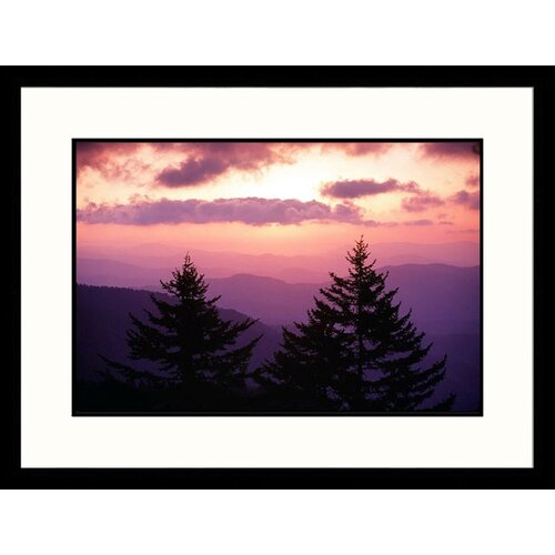 Great American Picture Landscapes 'Clingmans Dome, Great Smokey Mountain National Park, TN' by Jack Jr Hoehn Framed Photographic Print