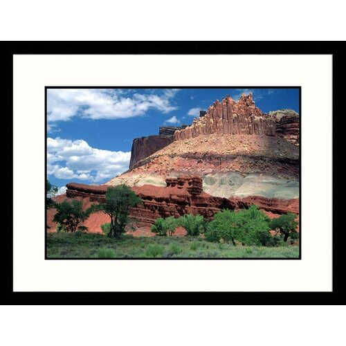Great American Picture Landscapes 'The Castle-Capitol Reef National Park, Utah' by David Carriere Framed Photographic Print
