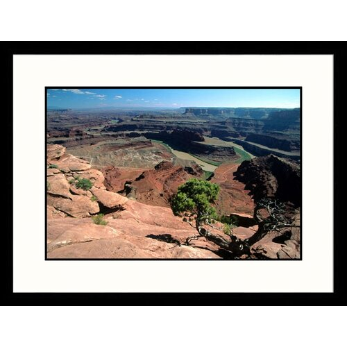 Landscapes 'Dead Horse State Park, Utah' by David Carriere Framed Photographic Print