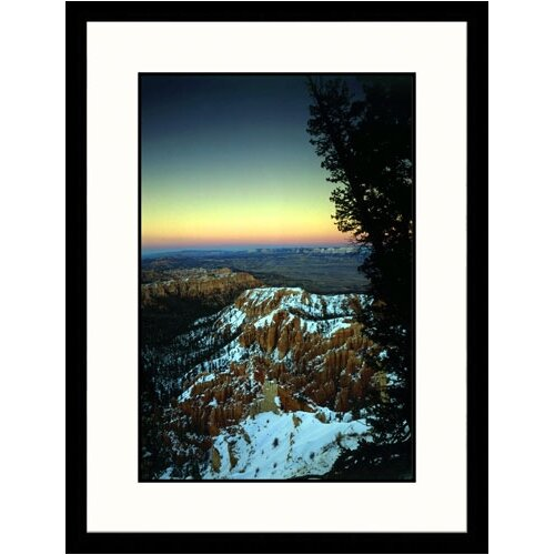Great American Picture Landscapes 'Sunrise Bryce Canyon National Park' by Walter Bibikow Framed Photographic Print