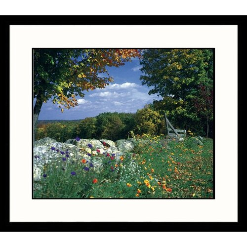 Great American Picture Landscapes Amherst Fall Framed Photographic Print