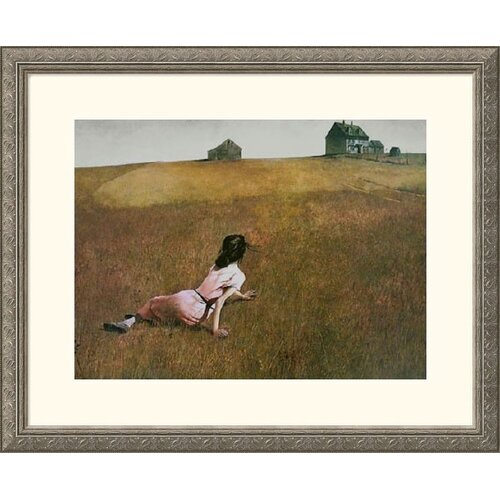 Great American Picture Museum Reproductions 'Christina's World' by Andrew Wyeth Framed Photographic Print