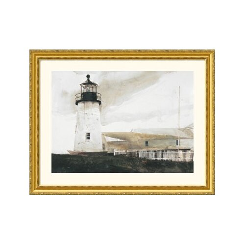 Great American Picture Museum Reproductions 'Easterly' by Andrew Wyeth Framed Photographic Print