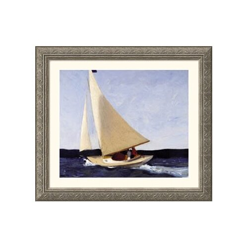 Great American Picture Museum Reproductions 'Sailing' by Edward Hopper Framed Painting Print