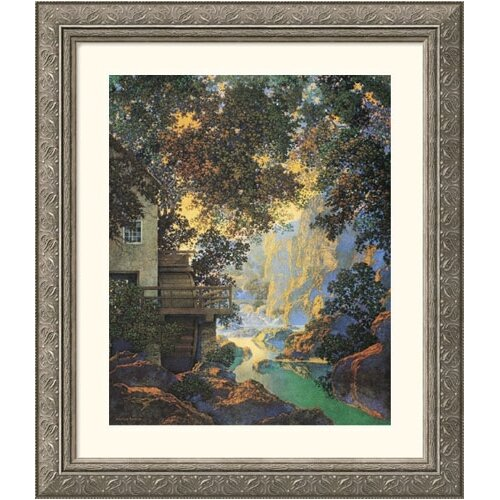 Great American Picture Museum Reproductions 'Old Oak Glen' by Maxfield Parrish Framed Painting Print
