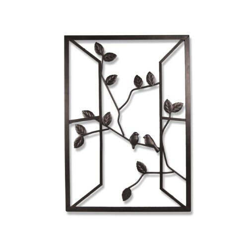 Plastec Open Window Wall Decor