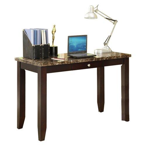 Wildon Home ® Elegant Faux Marble Desk