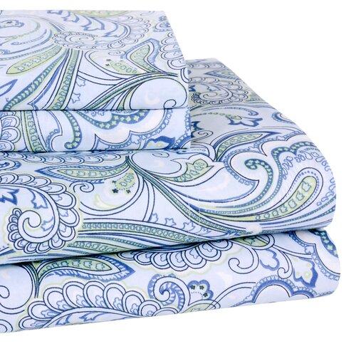 Wildon Home ® Lindsey Paisley 300 Thread-Count Sheet Set