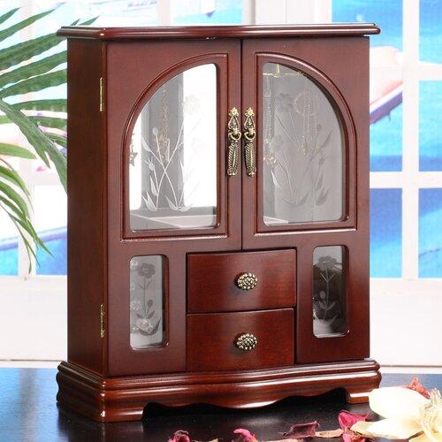 Wildon Home ® Minneola 2 Door Jewelry Box