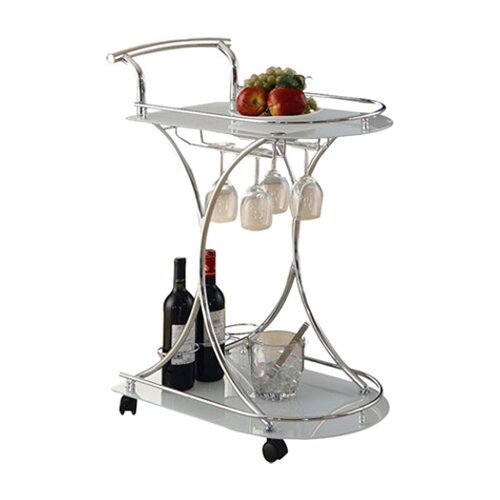 Wildon Home ® Whisper Serving Cart